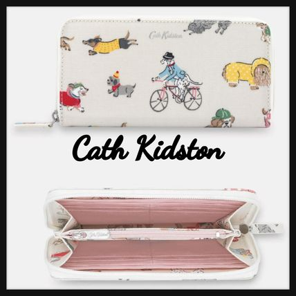 【Cath Kidston】犬柄がCUTE! Park Dogs パーク ドッグ 長財布