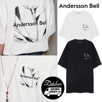 ANDERSSON BELL UNISEX CREVICE ART T-SHIRTS  AB484