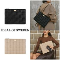 【 IDEAL OF SWEDEN 】BRAIDED Laptop  編み込み パソコンケース