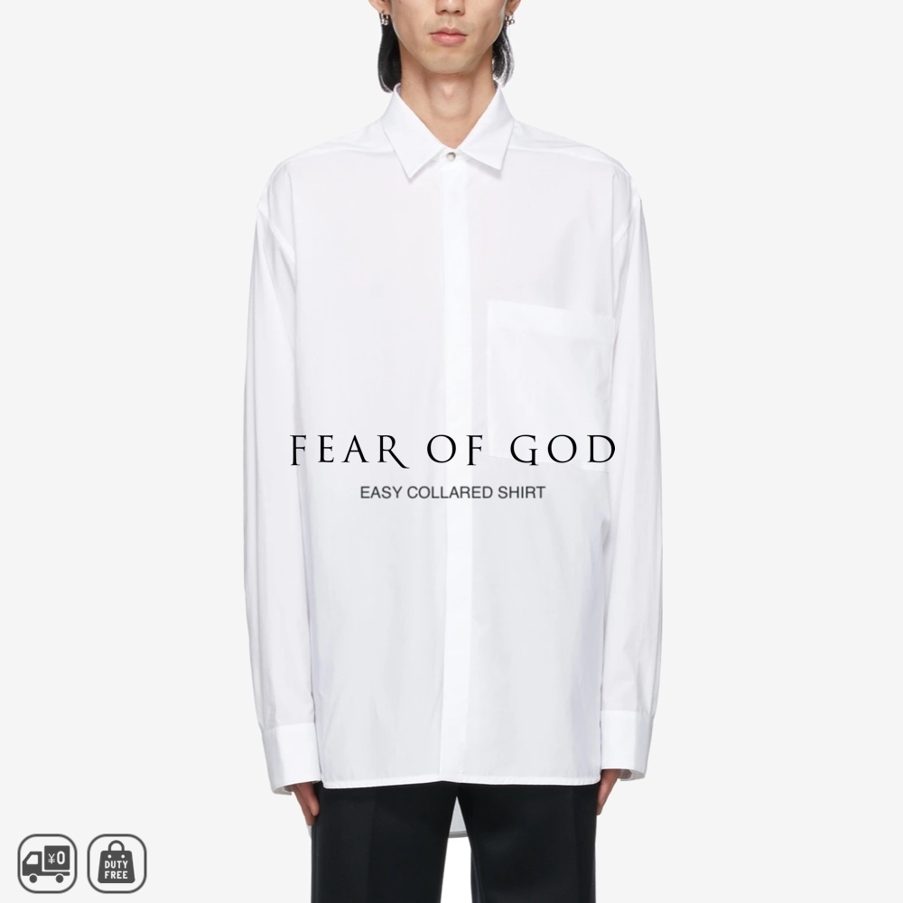 FEAR OF GOD   EASY COLLARED シャツ 関送込・国内発 (FEAR OF GOD/シャツ) 69635300