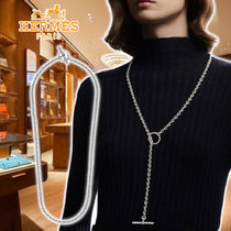 HERMES 21SS Chaine d'Ancre Punk necklace Silver ネックレス