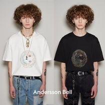 ANDERSSON BELL(アンダースンベル) Tシャツ・カットソー ANDERSSON BELL★21SS★SMILE EARTH 刺繍Tシャツ★UNISEX
