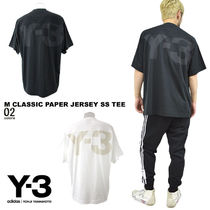 Y-3 ワイスリー Tシャツ M CLASSIC PAPER JERSEY SS TEE国内発送