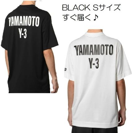 SALE★Y3★ ワイスリー バック ロゴ Tシャツ