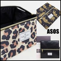 ASOS(エイソス) メイクポーチ ASOS The Flat Lay Co. メイクアップポーチ 三種 送料込