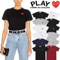 COMME des GARCONS(コムデギャルソン) Tシャツ・カットソー 【即発】COMME des GARCONS ハートロゴ カットソー レディース