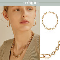 [roaju] bold chic chain necklace チェーン★Jessi着用★男女