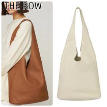 【The Row】Lux グレインレザーバケットホーボーバッグ