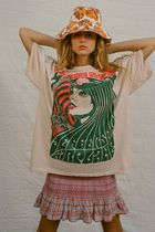 Urban Outfitters(アーバンアウトフィッターズ) Tシャツ・カットソー Urban Outfitters☆ジェファーソン・エアプレイン Tシャツドレス