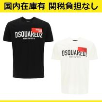 DSQUARED2 Red Tag ロゴ プリント コットン Tシャツ