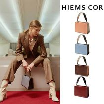 HIEMS COR(イエムスコール) バッグ・カバンその他 【HIEMS COR】HIEMS COR 35 LOW SQUARE S-TOTE BAG