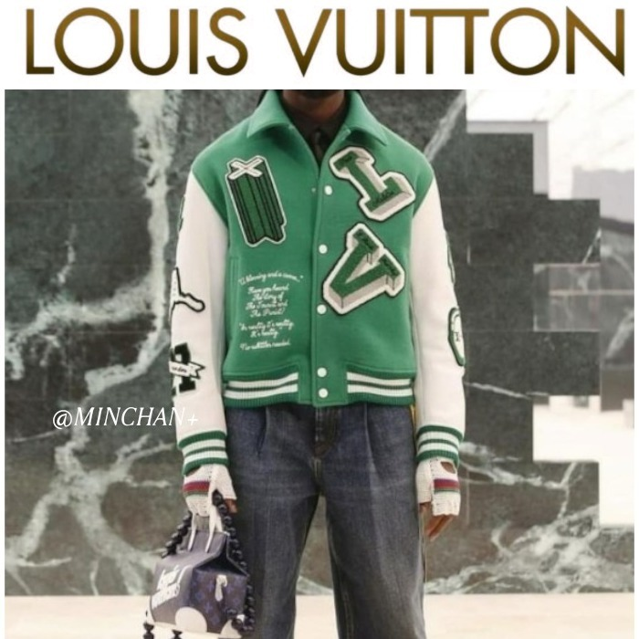 21FW最新作!プレ Louis Vuitton レジャー ジャケット (Louis Vuitton/ジャケットその他) 1A9722
