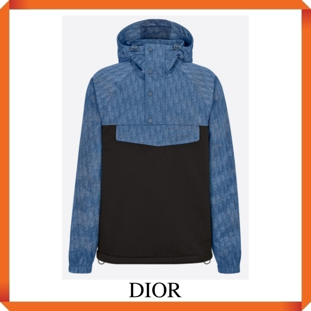 DIOR OBLIQUE HOODED ANORAK (Dior/アウターその他) 193J640A0631_C585