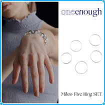 【ONE ENOUGH】Mikro Five Ring SET〜リング5点セット★関税込み