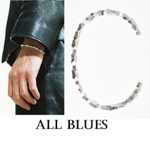 All Blues◆Snake Thin & Carved ブレスレット◆シルバー