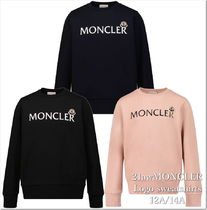 MONCLER(モンクレール) キッズ用トップス 21AW☆MONCLER ロゴスウェット 12/14A大人OK♪【関税込】