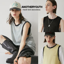 ANOTHERYOUTH★21SS★メッシュニットスリーブレストップ