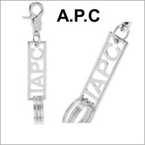 *A.P.C.*ロゴ キーリング