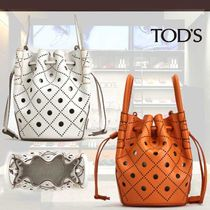 TOD'S直営店◆トッズ マイクロ リファインドレザーバケット 2色