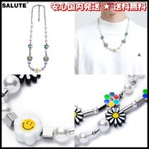 SALUTE(サルーテ) ネックレス・ペンダント 人気★安心国内発送【SALUTE】FLOWER ANARCHY PEARL ネックレス