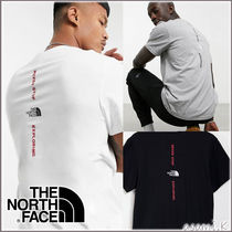*THE NORTH FACE*  Vertical ロゴ Tシャツ 3色【送料・関税込】