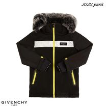 GIVENCHY(ジバンシィ) キッズアウター 大人OK★Givenchy★2021AW★ナイロンスキージャケット★関送込