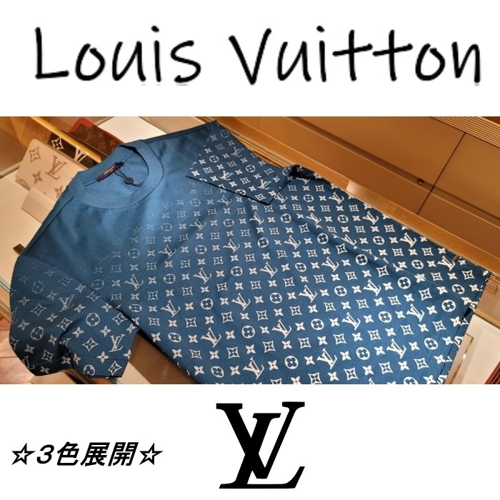 21SS【LV直営買付】LVSE モノグラム グラディエント Tシャツ (Louis Vuitton/Tシャツ・カットソー) 1A8HKK  1A8HKQ  1A8WMR