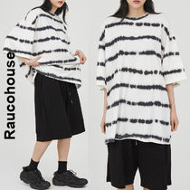 Raucohouse(ラウコハウス)★ Striped Washed Over T-Shirt