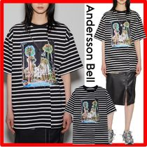 ANDERSSON BELL(アンダースンベル) Tシャツ・カットソー ☆【ANDERSSON BELL】☆UNISEX FILM ARCHIVE PATCH T-SHIRT.S☆
