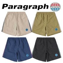【Paragraph】21ss★ Taping Blue Patch Shorts No.65