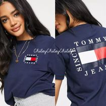 Tommy Hilfiger(トミーヒルフィガー) Tシャツ・カットソー 【Tommy Jeans】大人気ロゴTシャツ/2色有