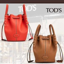 TOD'S直営店◆トッズ マイクロ ハンマードレザー バケット 2色