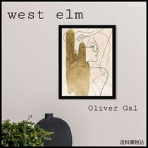 West Elm モダンアート Oliver Gal Tangled Thoughts /絵画