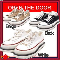 [OPEN THE DOOR] border line shoes ◆3 color ◆兼用◆ 追跡付