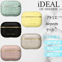 iDEAL OF SWEDEN(アイディール) テックアクセサリー ☆関税送料込☆IDEAL OF SWEDEN Airpodsケース Pro クロコ ロゴ
