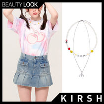 【KIRSH】CHERRY BEADS NECKLACE 2色★チェリー ネックレス