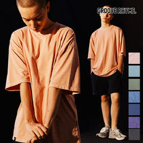 [grooverhyme] BASIC PIGMENT OVER FIT T-SHIRTS [GTS764I23]