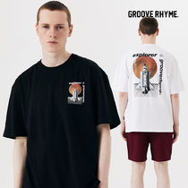 [grooverhyme] SPACE SHUTTLE PRINT T-SHIRTS [GTS731I23]