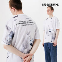 [grooverhyme] SPACE RESEARCH PRINT T-SHIRTS [GTS727I23]