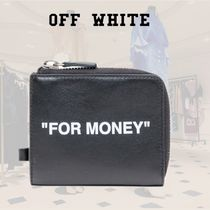 SALE**Off-White**オフホワイト**Quote Chain Wallet
