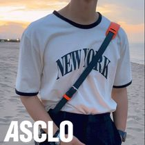 ASCLO New York Color Matching Short sleeve T Shirt (3color)
