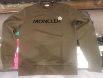 MONCLER★21/22秋冬セーター/文字を隠そうなロゴ/カーキ色