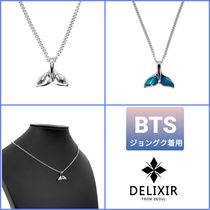 BTSジョングク着用★DELIXIR★Whail tail Necklace★ネックレス