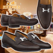 【HERMES】21AW Moccasins Paris Cacao Leather ブーツ