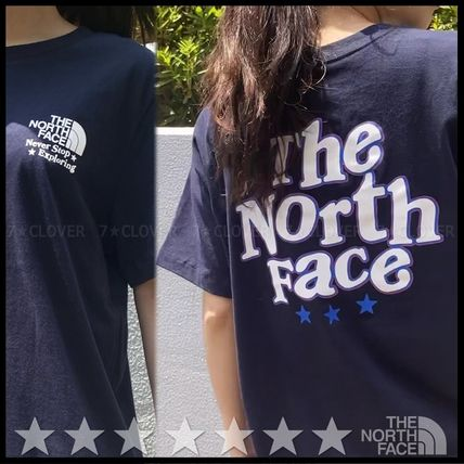 THE NORTH FACE Tシャツ・カットソー 日本未入荷&国内発送★THE NORTH FACE★WOMEN'S BACK PRINT TEE