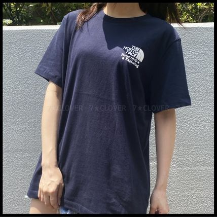 THE NORTH FACE Tシャツ・カットソー 日本未入荷&国内発送★THE NORTH FACE★WOMEN'S BACK PRINT TEE(4)