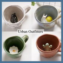 Urban Outfitters/ *いないいないばあ 陶器製マグ 4種*関送料込