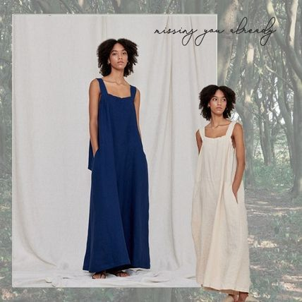 missing you already: Strap wide jumpsuit *送料税関無料