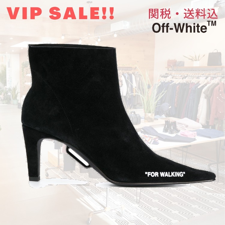 SALE!!【Off-White】For Walking ブーツ (Off-White/ブーツその他) 69859951