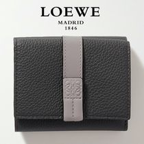 ∞∞ LOEWE ∞∞ Trifold two-tone leather ウォレット☆